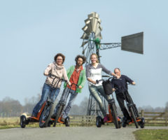 Elektrisch rijden op de Swing bike, e-Step of Lopifit