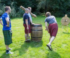Highland Games & Handboogschieten