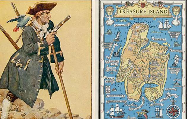 Treasure Island (nieuw 2017)