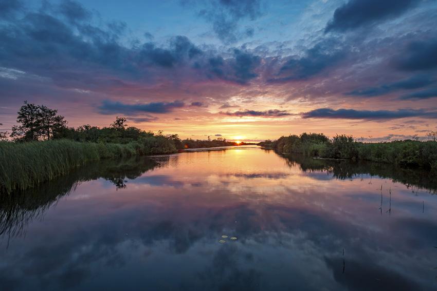 Friesland Nationaal Park De Alde Feanen