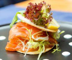 vijf gangen seizoens Diner (vanaf 10 pers)